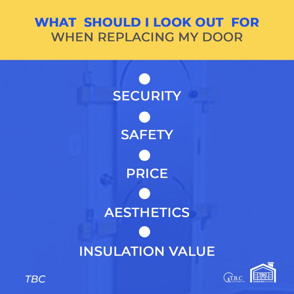 What Should I Look for When Replacing a Garage Door?