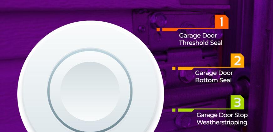 Types of Garage Door Sealing