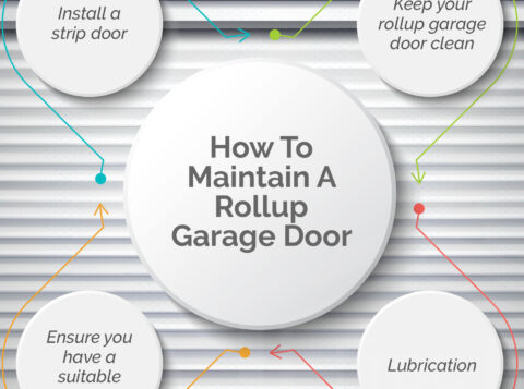 How to Maintain a Rollup Garage Door