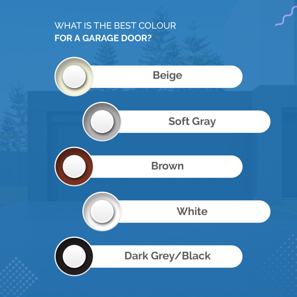 What is the Best Colour for a Garage Door