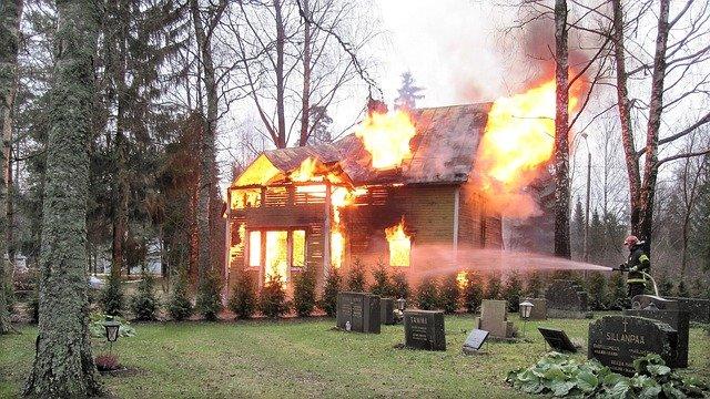 garage door fires
